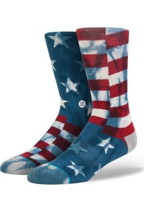 Stance Blue Banner Erkek Çorap