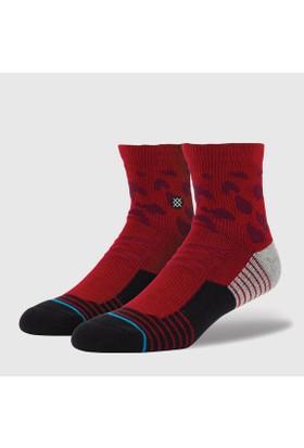 Stance Fusion Athletic Cheets Qtr Erkek Çorap