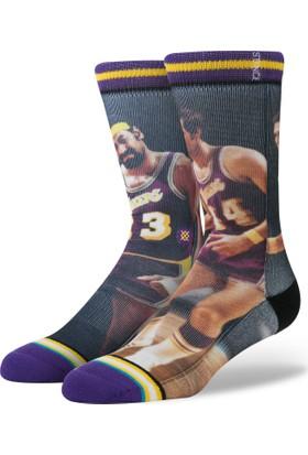 Stance Nba Legends Chamberlan/West Erkek Çorap