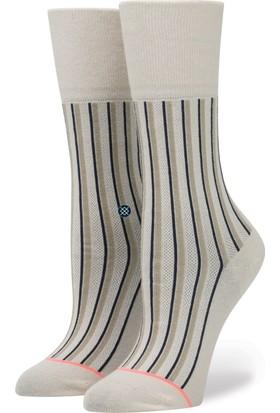 Stance Reserve Stripe Up Kadın Çorap