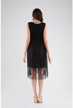 Lyn Devon Lal Elbise Siyah