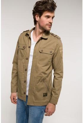 Defacto Apolet Detaylı Slim Fit Overshirt