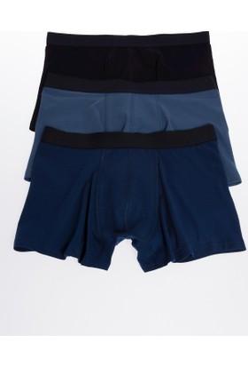 Defacto 3'lü Basic Boxer İç Çamaşırı
