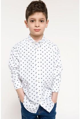 Defacto Polo Yaka Uzun Kollu Gömlek