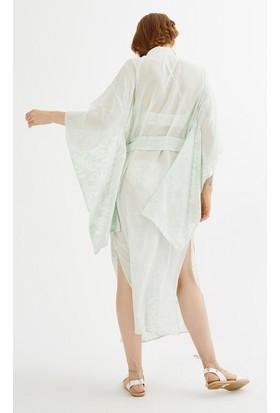 Just Like You 047 Yeşil Kimono