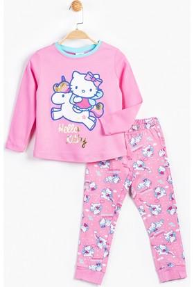 Hello Kitty Çocuk Pijama Takımı 12508