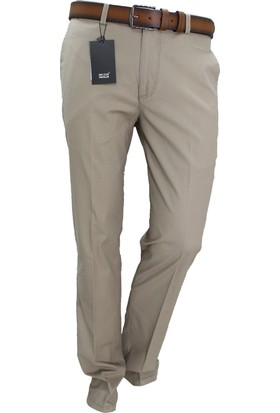 Arvedo Mr.Gün Erkek Pantolon Bej Pamuklu Regular Fit 83128