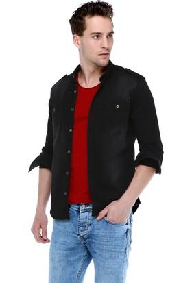 Philip Loren Siyah Cepli Kot Gömlek Fg18B7015R01