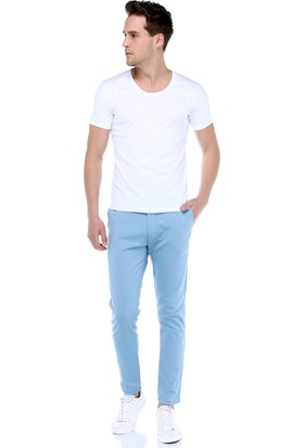 Philip Loren Mavi Yan Cep Pantolon Rn18B07R06