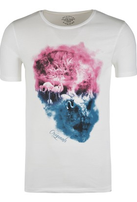 Jack & Jones Erkek T-Shirt 12136844