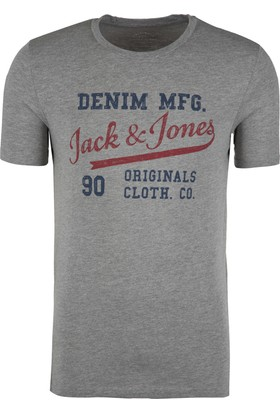 Jack & Jones Erkek T-Shirt 12138447