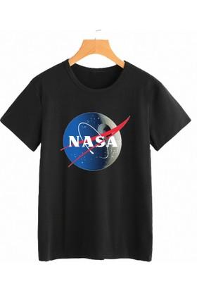 R&M The Nasa Death Star Siyah Erkek Tshirt