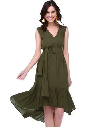 Twenty3 Önü Bağlamalı Elbise 18Elbs7579