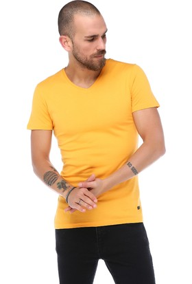Yards Blue V Yaka T-Shirt 18Y1002