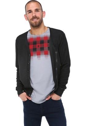 Phazz Brand Düğmeli Sweatshirt 16Kpeo4719