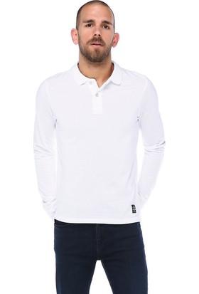 Phazz Brand Polo Yaka Uzun Kol Sweatshirt 17Kpeo5754