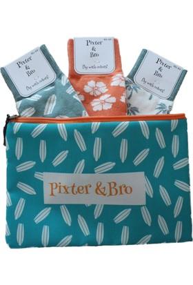 Pixter&Bro Surf 3'lü Gift Çorap Set