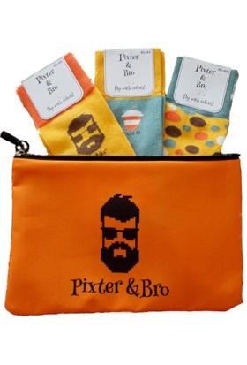 Pixter&Bro 3'lü Gift Çorap Set