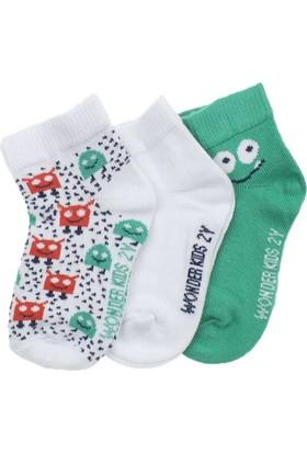 ModaKids Wonder Kids Erkek Çocuk 3 lü Çorap 010-5681-017