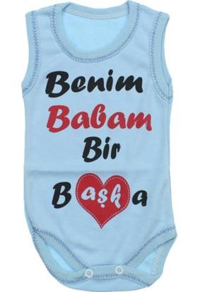 Modakids Erkek Bebek Yazılı Bady 035-70116-014