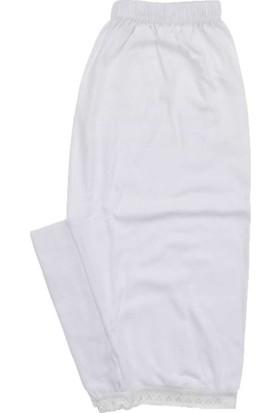 ModaKids Kadın Beyaz Paçalı 040-3014-027