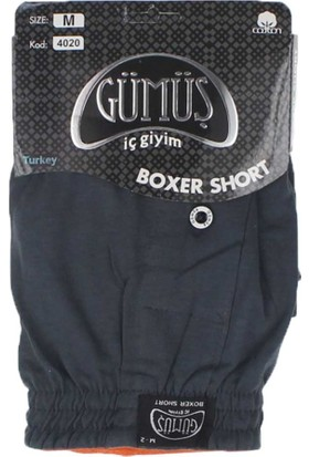 ModaKids Gümüş İç Giyim Erkek Havlu Bel Boxer 040-4020A-005