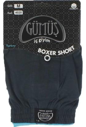 ModaKids Gümüş İç Giyim Erkek Havlu Bel Boxer 040-4020A-037