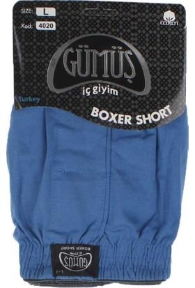 ModaKids Gümüş İç Giyim Erkek Havlu Bel Boxer 040-4020H-008