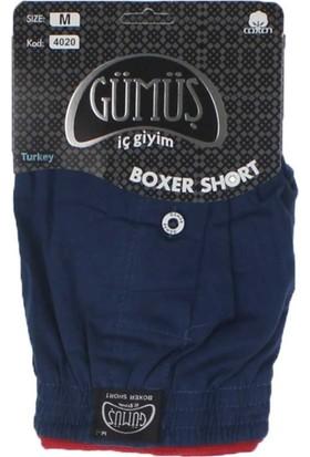 ModaKids Gümüş İç Giyim Erkek Havlu Bel Boxer 040-4020L-002