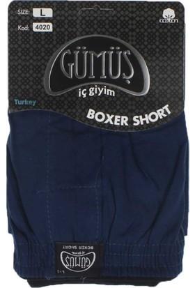 ModaKids Gümüş İç Giyim Erkek Havlu Bel Boxer 040-4020L-038
