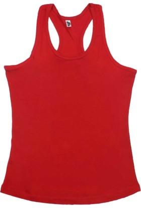 ModaKids Gümüş İç Giyim Kadın Kırmızı Sporcu Atlet 040-4030-002