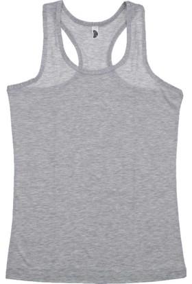ModaKids Gümüş İç Giyim Kadın Gri Sporcu Atlet 040-4030-011