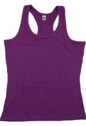 ModaKids Gümüş İç Giyim Kadın Mor Sporcu Atlet 040-4030-025