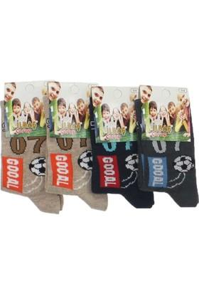 ModaKids Erkek Çocuk 4 lü Çorap 060-002-012