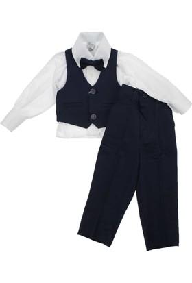 ModaKids Terry Kids Erkek Bebek 2 Düğmeli Smokin Takım 061-211622-041