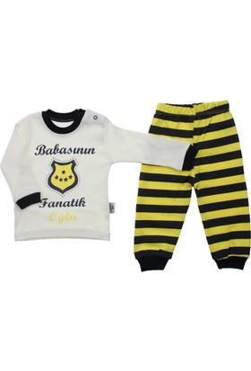 ModaKids Taraftar Erkek Bebek 2 li Pijama Takım 045-2578-012