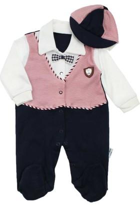 ModaKids Erkek Bebek Yelekli Papyonlu Tulum 052-293-042