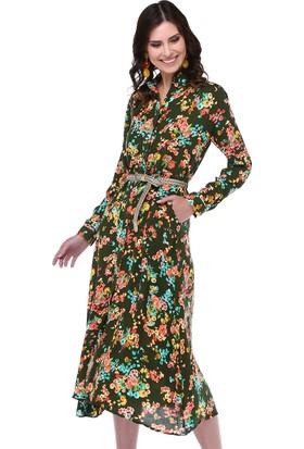 Twenty3 Çiçek Desenli Elbise Fme-017-023