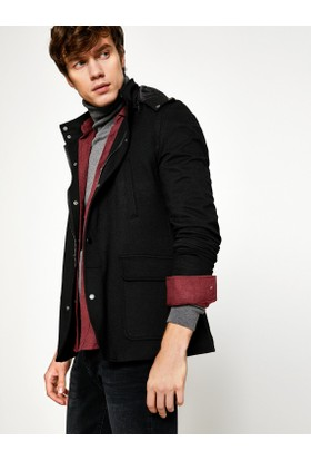 Koton Erkek Kapüşonlu Blazer Ceket