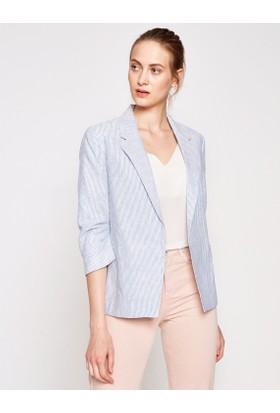 Koton Kadın Keten Ceket