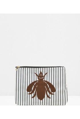 Koton Kadın Fermuar Detaylı Çanta