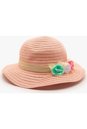 Koton Kız Çocuk Çiçekli Şapka