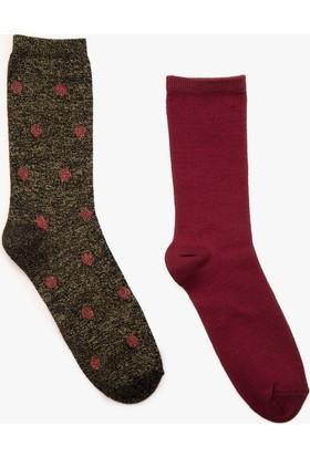 Koton Kadın 2'Li Kadın Çorap
