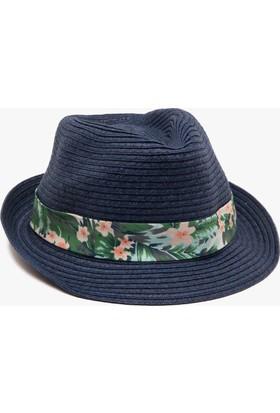 Koton Erkek Çocuk Çiçek Detaylı Şapka