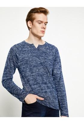 Koton Erkek Cep Detaylı Sweatshirt