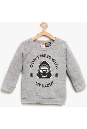 Koton Erkek Çocuk Star Wars Baskılı Sweatshirt