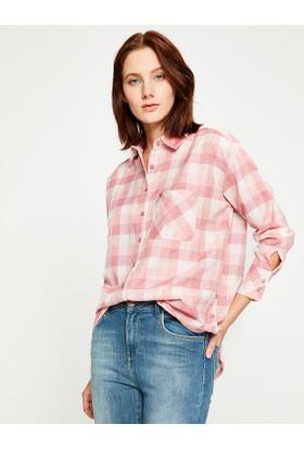 Koton Kadın Kareli Gömlek