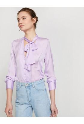 Koton Kadın Yaka Detaylı Gömlek