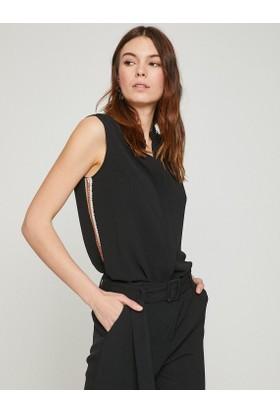 Koton Kadın Pul Detaylı Gömlek