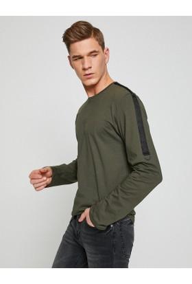 Koton Erkek Biye Detaylı Sweatshirt